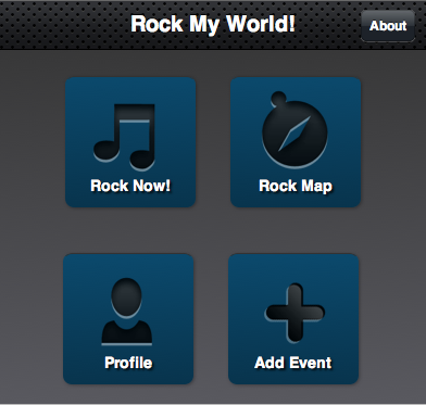 Rock My World Mobile App